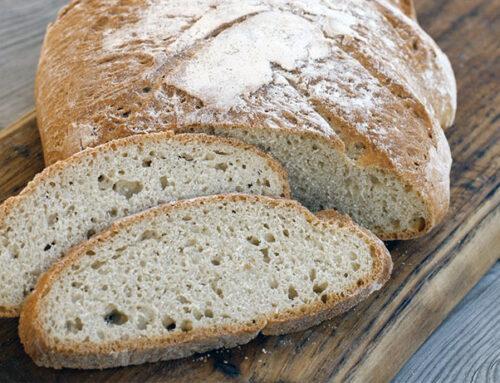 Pane con lievito madre a lunga lievitazione